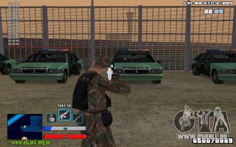 C-HUD Universal pour GTA San Andreas