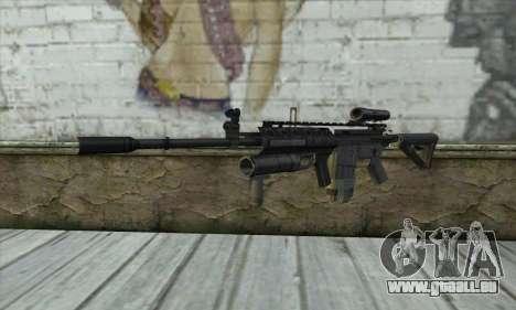 M4A1 из COD Modern Warfare 3 für GTA San Andreas