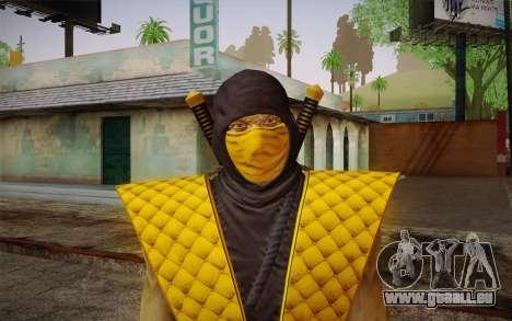 Klassiker Scorpion из MK9 DLC für GTA San Andreas dritten Screenshot