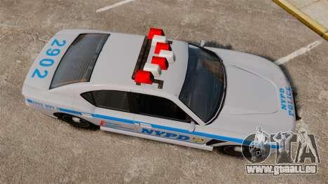 GTA V Bravado Buffalo NYPD für GTA 4 rechte Ansicht