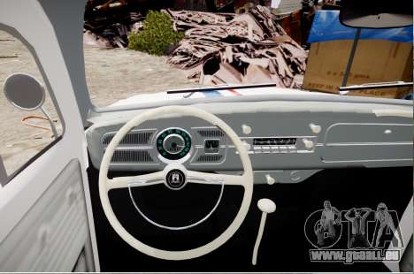 Volkswagen Beetle 1962 für GTA 4 hinten links Ansicht