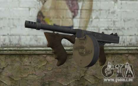 Machine Thompson (Deadfall Adventures) pour GTA San Andreas