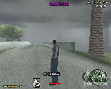 HUD by Romka MC pour GTA San Andreas