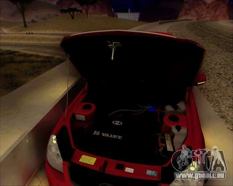 Lada 2170 Priora Tuneable pour GTA San Andreas