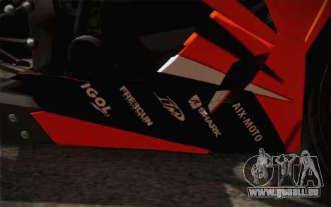 Ninja ZX6R Stunt Setup für GTA San Andreas Seitenansicht