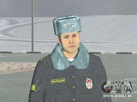 Un capitaine de police pour GTA San Andreas