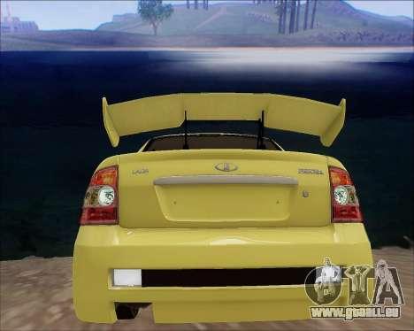 Lada 2170 Priora Tuneable pour GTA San Andreas moteur