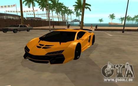 GTA 5 Zentorno für GTA San Andreas