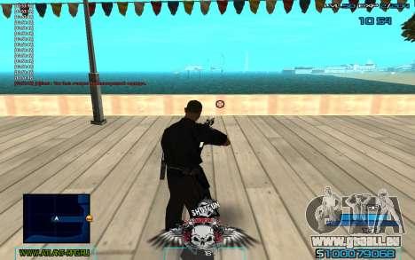 C-HUD by Extazy v1.1 pour GTA San Andreas deuxième écran