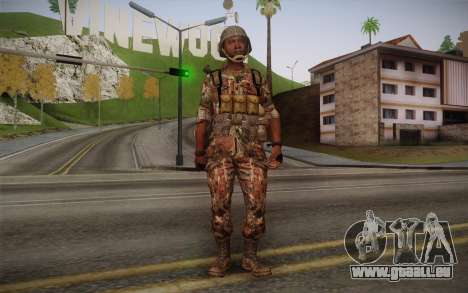 U.S. Soldier v3 pour GTA San Andreas