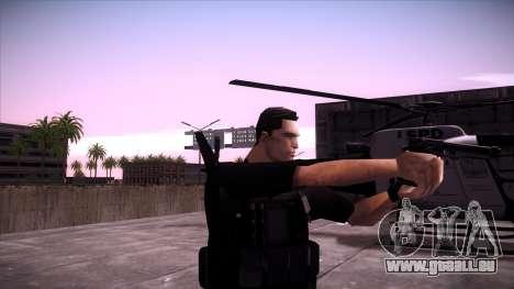 Special Weapons and Tactics Officer Version 4.0 pour GTA San Andreas troisième écran