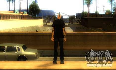 Punk (vwmycr) pour GTA San Andreas troisième écran