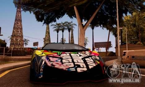 Lamborghini LP750-4 2013 Veneno Stikers Editions für GTA San Andreas linke Ansicht