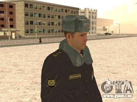 Un capitaine de police pour GTA San Andreas quatrième écran