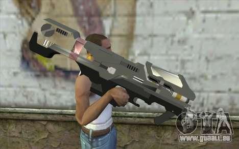Halo Spartan Laser pour GTA San Andreas troisième écran