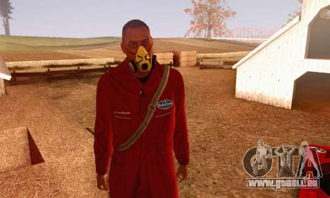 Bug Star Robbery 2 No Cap pour GTA San Andreas deuxième écran