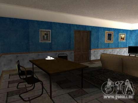 Das neue Interieur des Hauses CJ für GTA San Andreas