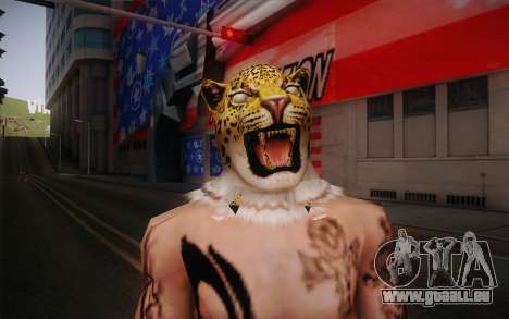 King from Tekken pour GTA San Andreas troisième écran
