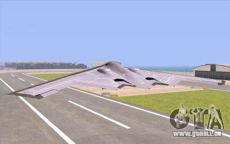 B-2 Spirit für GTA San Andreas linke Ansicht