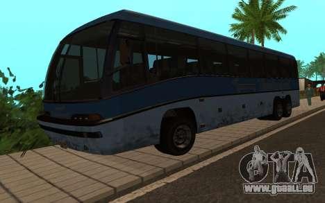 GTA 5 Dashound pour GTA San Andreas sur la vue arrière gauche