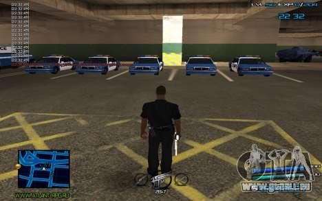 C-HUD by Miki pour GTA San Andreas deuxième écran