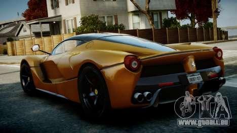 Ferrari LaFerrari v1.2 für GTA 4 rechte Ansicht