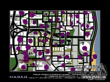 Tags Map Mod v1.2 für GTA San Andreas