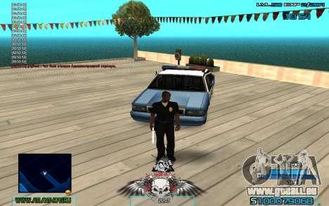 C-HUD by Extazy v1.1 für GTA San Andreas