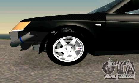 VAZ 21123 TURBO-Charge v2 pour GTA San Andreas laissé vue