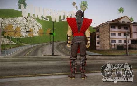 Classique Ermac из MK9 DLC pour GTA San Andreas deuxième écran