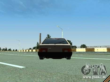 VAZ 2109 pour GTA San Andreas vue intérieure