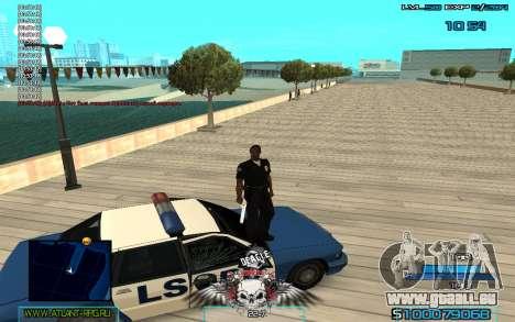 C-HUD by Extazy v1.1 pour GTA San Andreas troisième écran