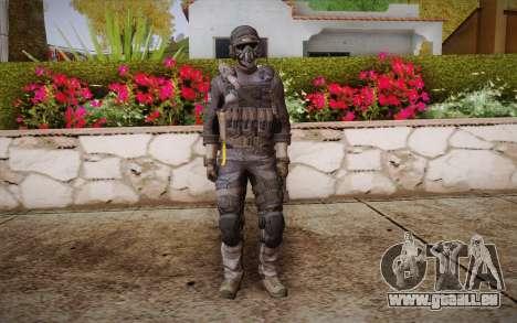 Kick из Call of Duty: Geister für GTA San Andreas