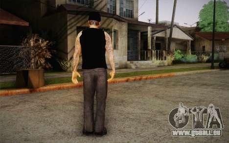 M. Shadows Skin für GTA San Andreas dritten Screenshot