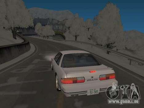 SinAkagi Snow Drift Strecke für GTA San Andreas zweiten Screenshot