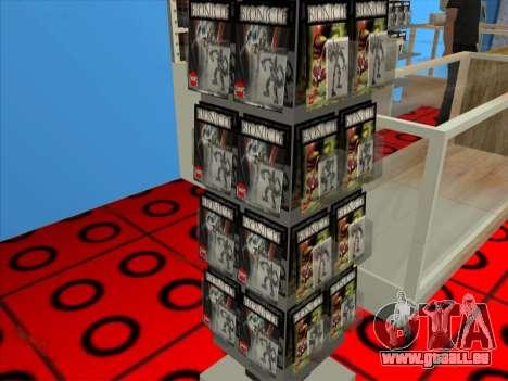 La boutique LEGO pour GTA San Andreas septième écran