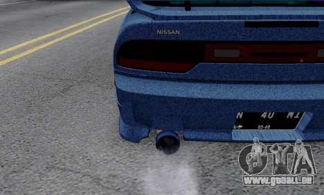 Nissan 240SX pour GTA San Andreas vue intérieure