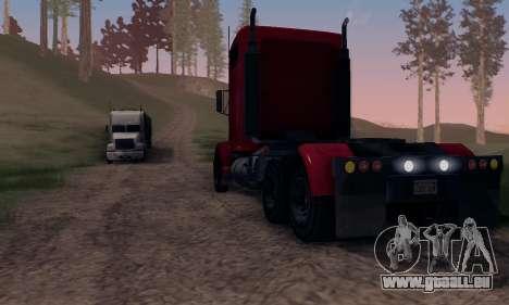 GTA V Packer pour GTA San Andreas vue de dessus