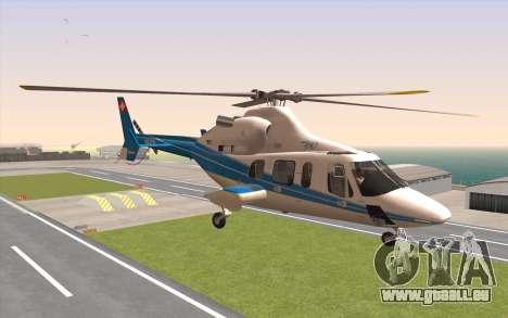 Bell 430 für GTA San Andreas