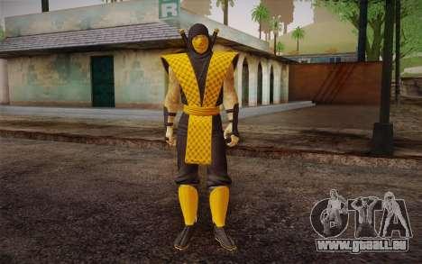 Klassiker Scorpion из MK9 DLC für GTA San Andreas