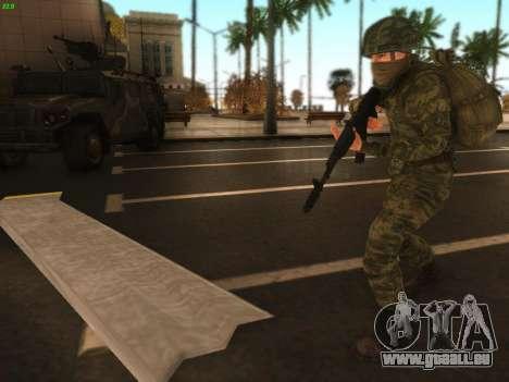 Bomber der modernen Russischen Armee für GTA San Andreas