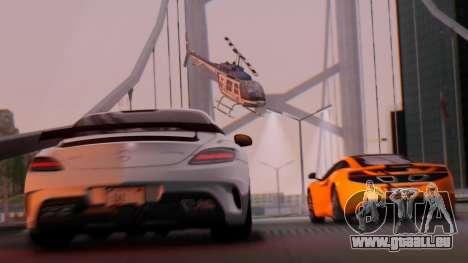 SA Beautiful Realistic Graphics 1.7 Final pour GTA San Andreas deuxième écran