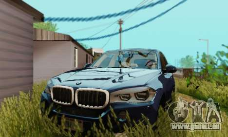 BMW X5 (F15) 2014 pour GTA San Andreas