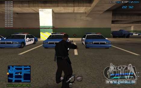 C-HUD by Miki pour GTA San Andreas troisième écran