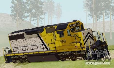GTA V Trem 2 für GTA San Andreas