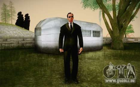 Agent Smith from Matrix pour GTA San Andreas