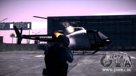 Special Weapons and Tactics Officer Version 4.0 für GTA San Andreas her Screenshot