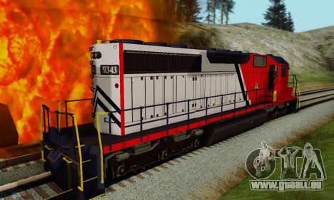GTA V Trem für GTA San Andreas zurück linke Ansicht