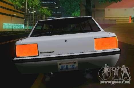 Vincent Limousine für GTA San Andreas rechten Ansicht