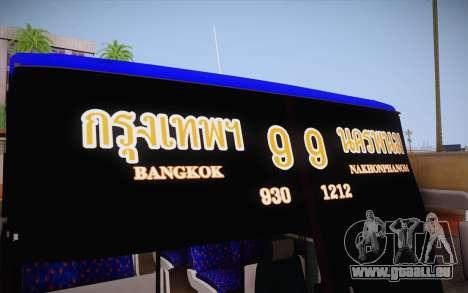Mercedes-Benz Argentina Thailand Bus für GTA San Andreas Seitenansicht